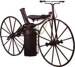steam velocipede built by Sylvester H. Roper