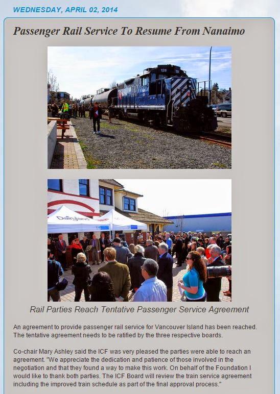 Passenger Rail Arpil 2 2014