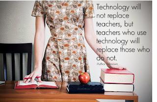 Technology will not replace teachers