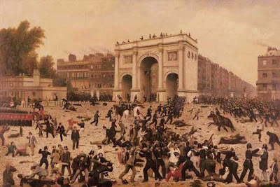 Hyde Park Demonstration 1866