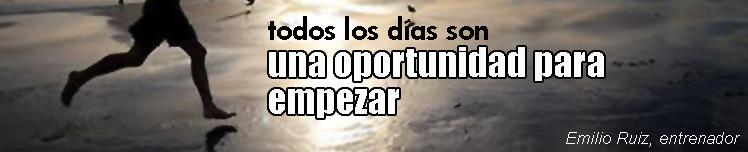 Todos los días son una oportunidad para empezar