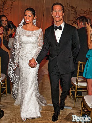 Matthew McConaughey Wedding