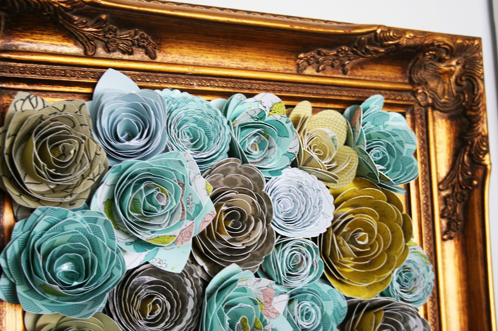 Chanel paper flower wall selol ink the how to gal vintage paper flower art mightylinksfo