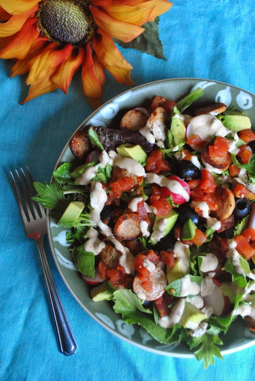 creamy chipotle salad