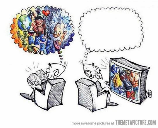 Kumpulan Gambar Foto Lucu tentang Buku dan Membaca