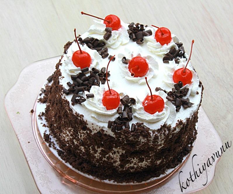 Black Forest Cake Gateaux Kothiyavunu