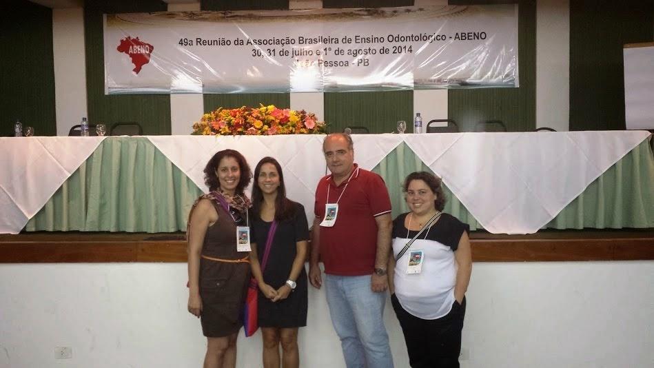 """Foto ABENO (2) """"Ousar para transformar no ensino odontológico"""": professores do UNIFESO participam da 49ª Reunião Anual da Associação Brasileira de Ensino Odontológico"""