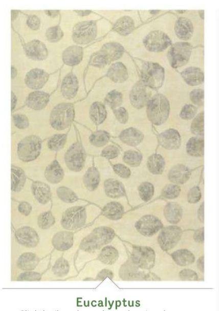 Rug 2013 Leafy Pattern