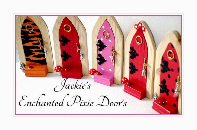 Scroll down for more Pixie Door's