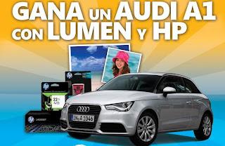 promocion concurso lument hp mexico 2013 premios automovil carro audi modelo 2013