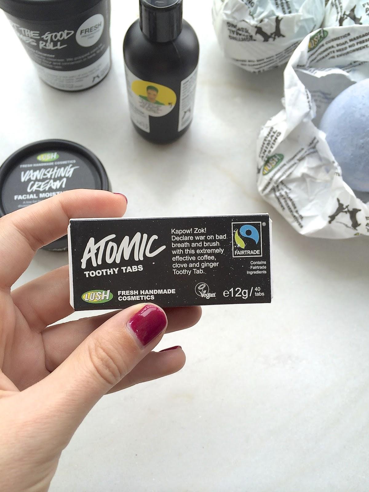 Lush Atomic Toothy Tabs