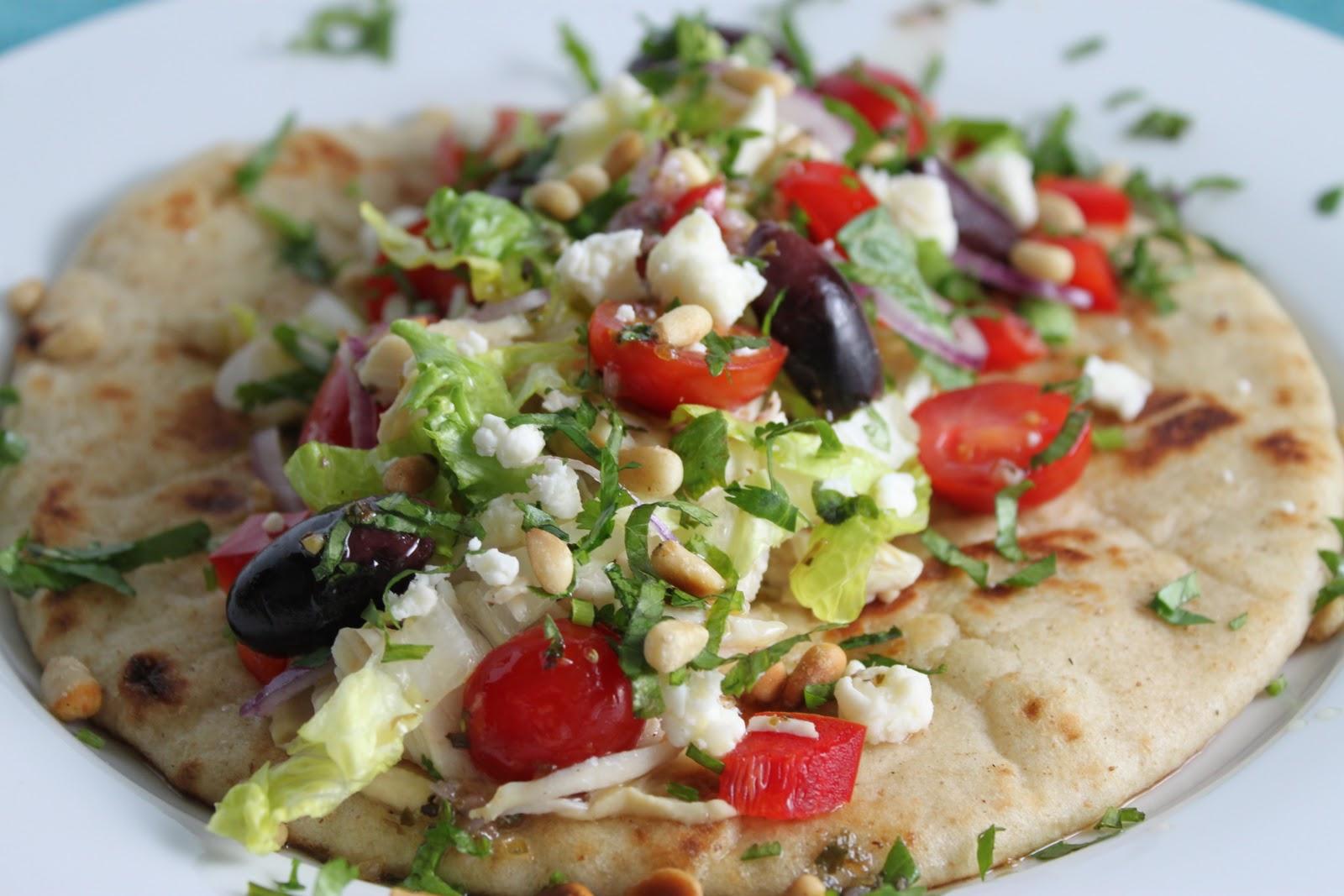 Mediterranean Chicken Pitas pictures