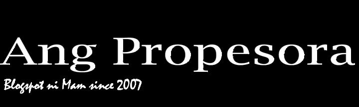 Ang Propesora