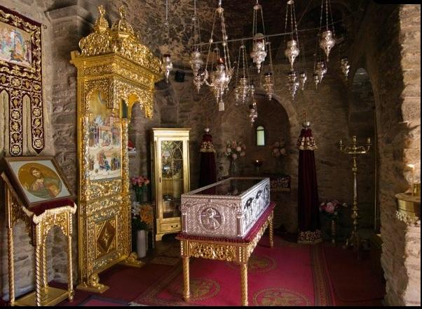 Απογευματινο προσκύνημα στην Ιερα Μονή Νταού Πεντέλης