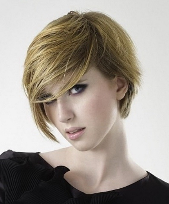 Cool Layered Very Short Hairstyles Trends 2012