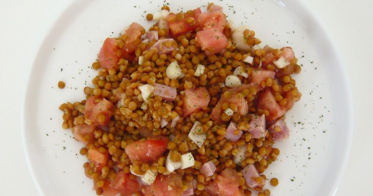 C mocomo ensalada de lentejas for Cocinar lentejas de bote