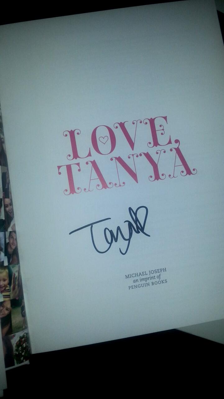 Meeting Tanya Bur
