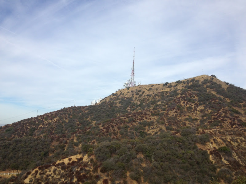 Hollywood Sign Mount Lee