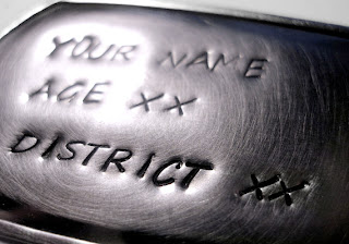 Hunger Games jewelry: District dogtag
