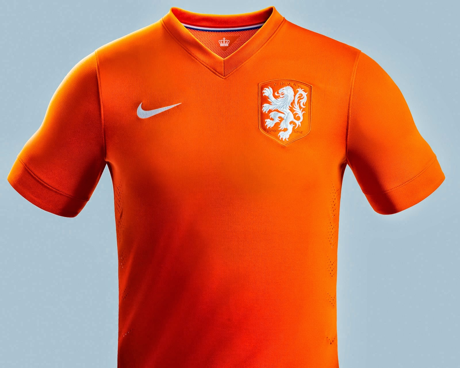jersey Netherlands 2014 World Cup Home Kit orange