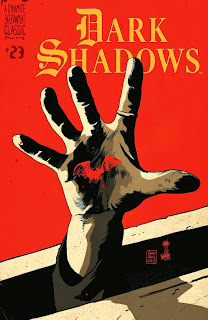 Cover of Dark Shadows #23 by Francesco Francavilla