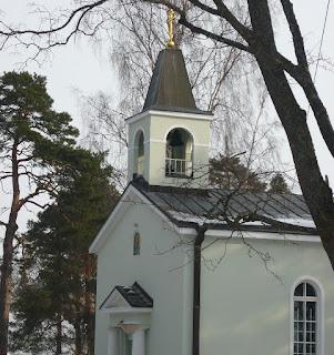 церковь Святителя Николая на старом русском кладбище в Хельсинки
