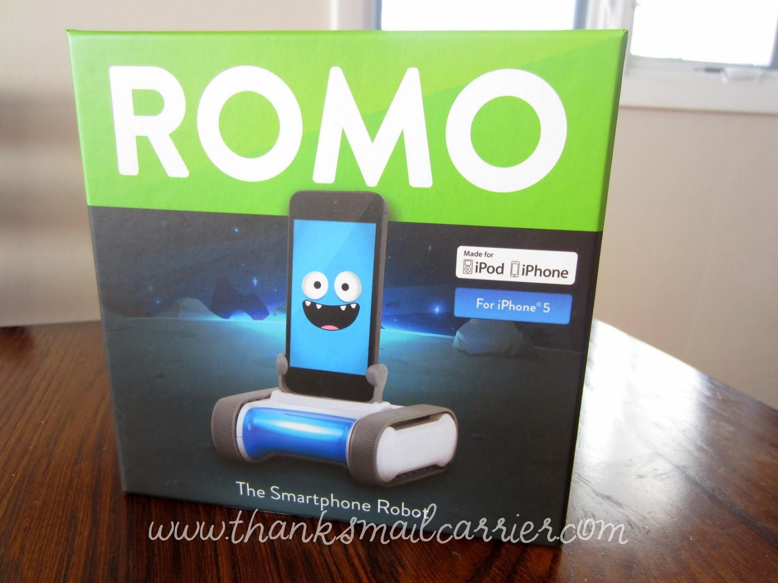 Romo personal robot