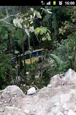 seramai 30 orang maut nahas kemalangan bas ekspres genting