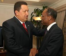 Jean-Bertrand Aristide & Hugo Chavez
