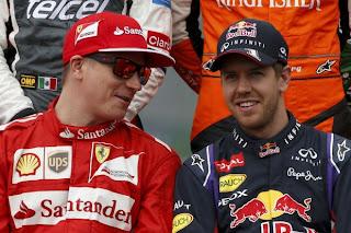 Hablando de F1 y de mis chicos en Twitter.