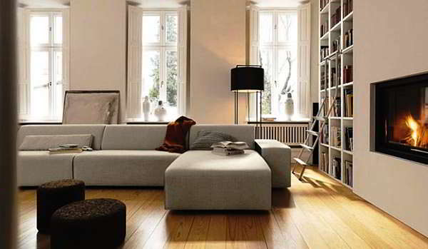 Foto Sofa Ruang Tamu Model L Minimalis