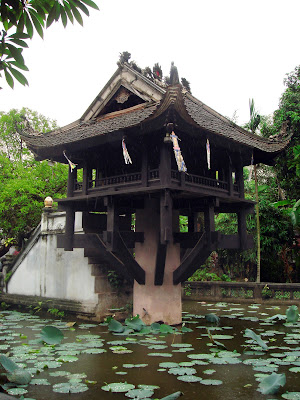 (Vietnam) - Hanoi - One-Pillar Pagoda