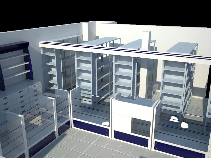 Mobiliario para farmacia mobiliario farmacias for Muebles para farmacia