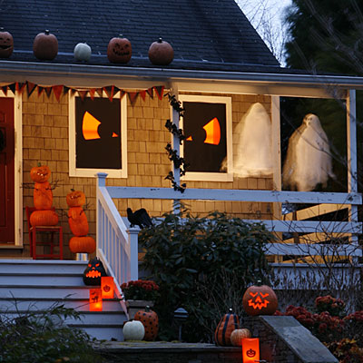 outdoor halloween decorations ideas