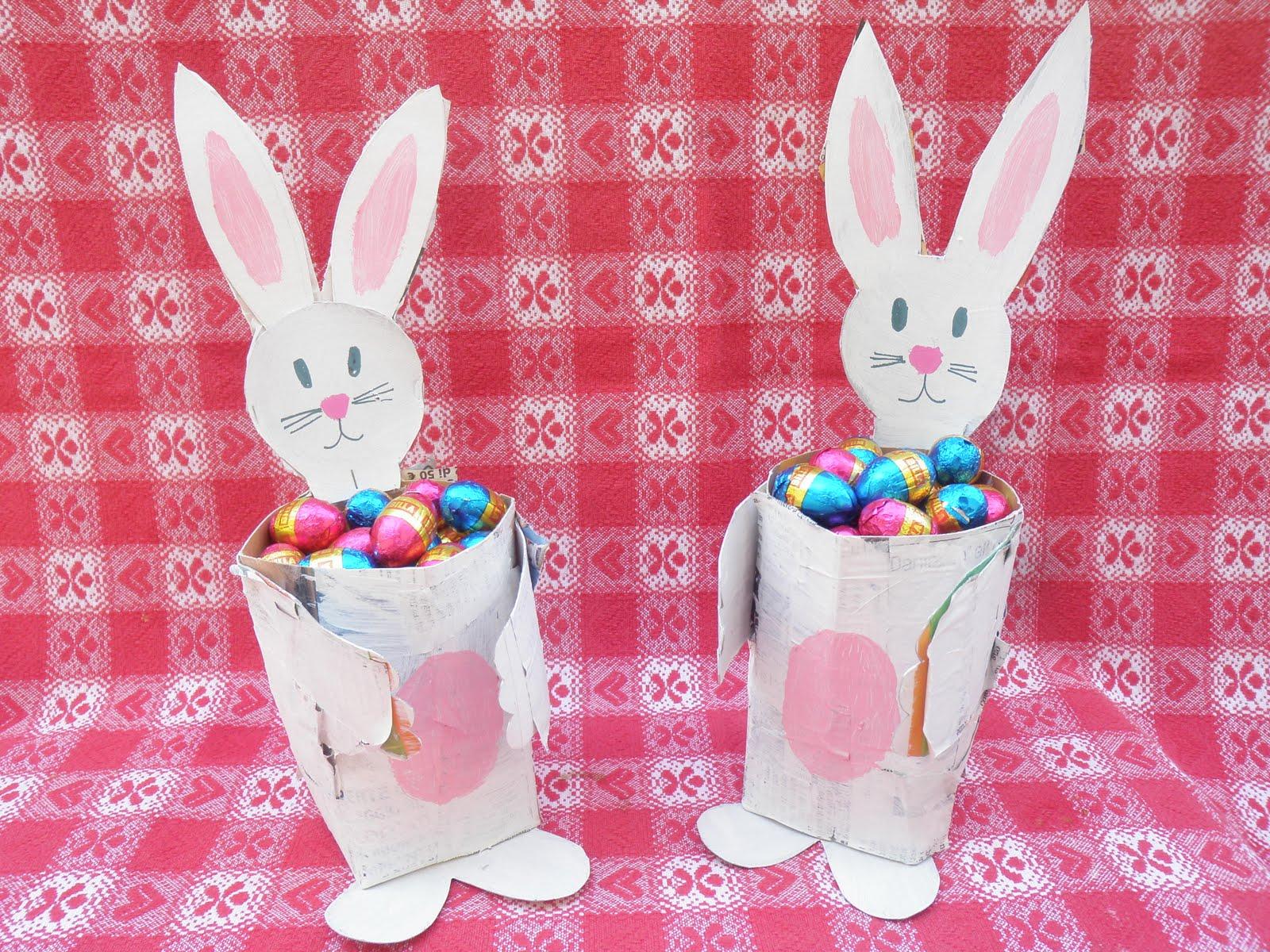 Unconventional mom coniglietto porta ovetti ricicloso - Albero porta carta igienica ...