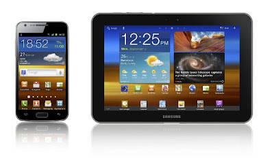 Samsung Galaxy S II LTE and Galaxy Tab 8.9 LTE