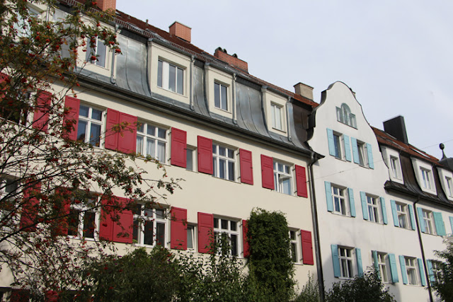 Häuser in Thalkirchen, München