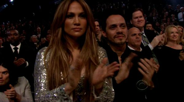 But really, what can top this screencap of Jennifer Lopez's standing ovation ...