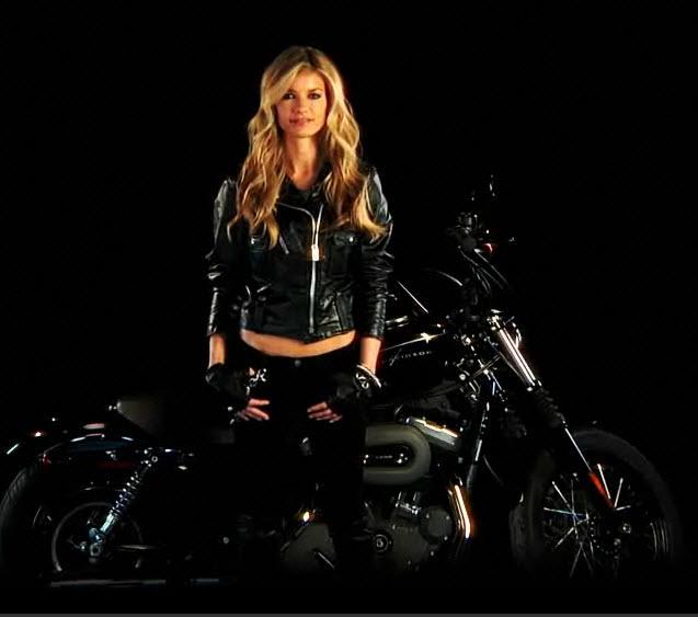 Marisa Miller Harley Davidson Calendar