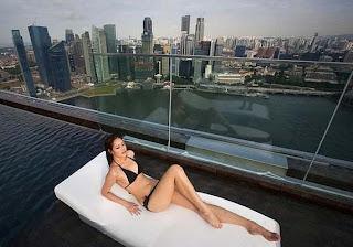 Singapur manzara