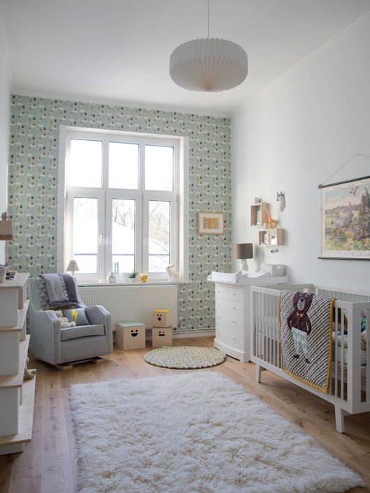 Antes y despu s de una habitaci n infantil la garbatella for Dormitorio estilo nordico infantil