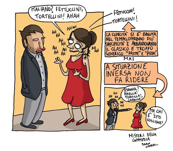 Matrimonio In Spagnolo : Il disegnatamente scritto di dario campagna scene da