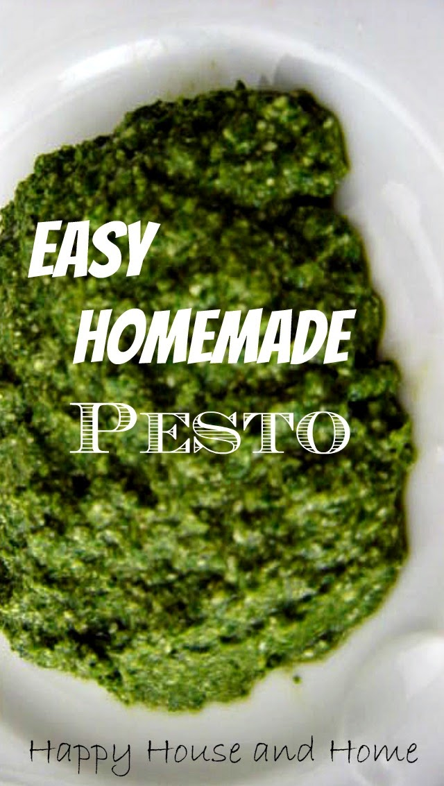 pesto recipe, make pesto, how to make pesto, pesto
