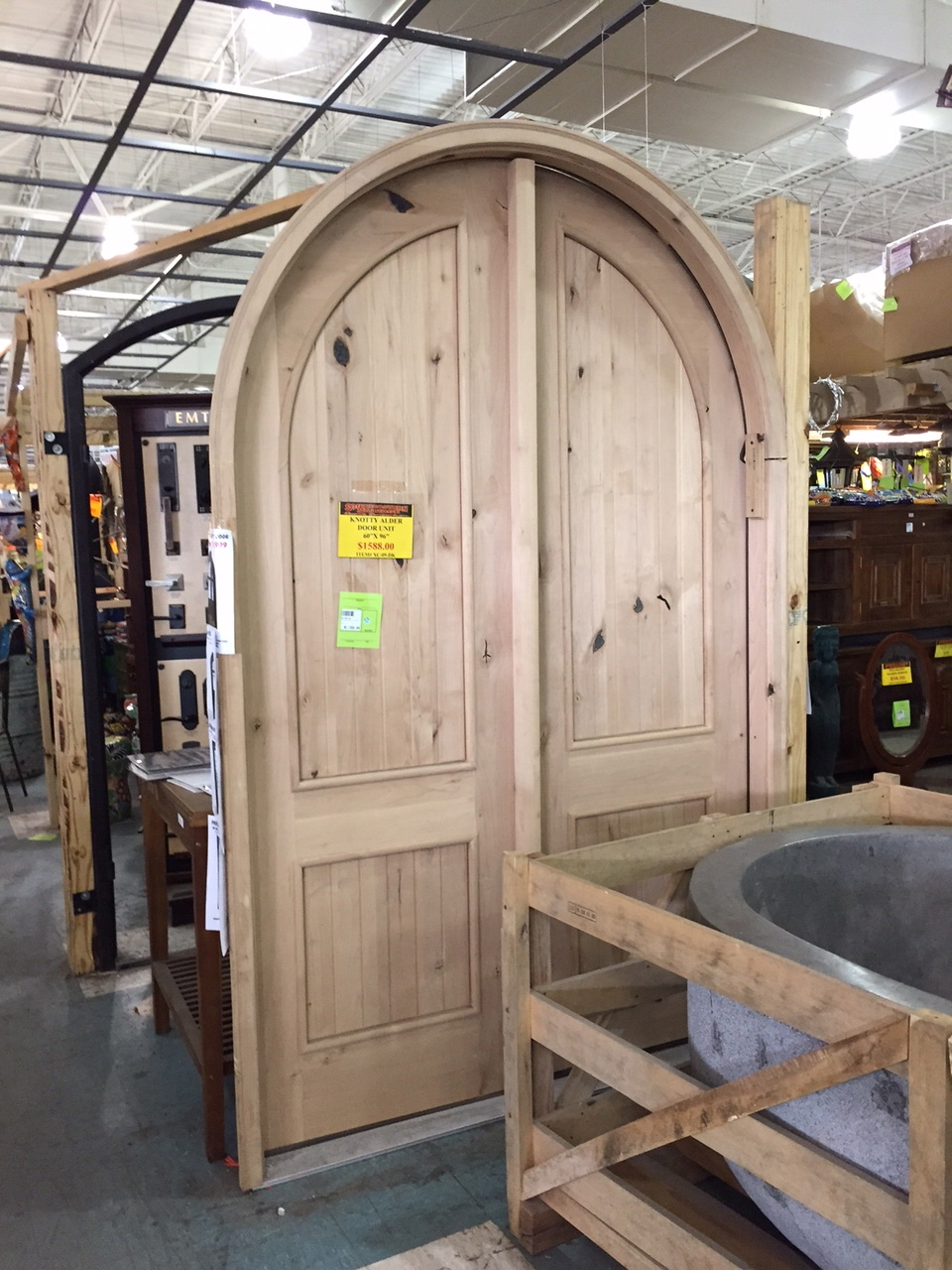 yu0027all....the price on this door was 1500.00....thatu0027s oh about 3000 less than you would get it somewhere else. & Kendall Boggs Fine Arts and Crafts: Yu0027all....Southeastern Salvage...