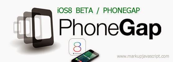 Cordova/PhoneGap app and iOS 8.0 Beta