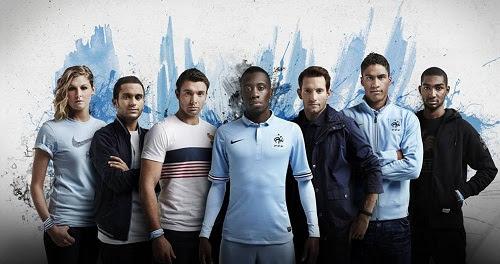 Nouveau maillot extérieur des Bleus pour la saison 2013-2014