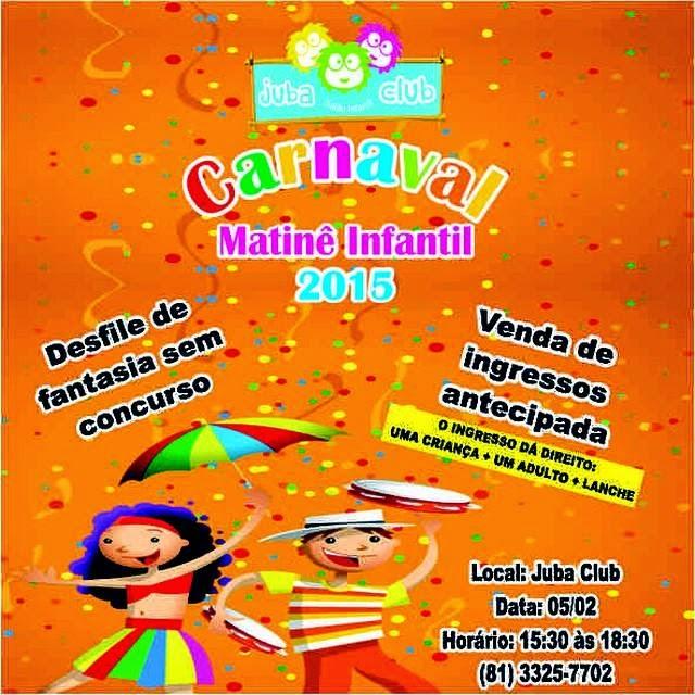 Prévias para criança em Recife 2015