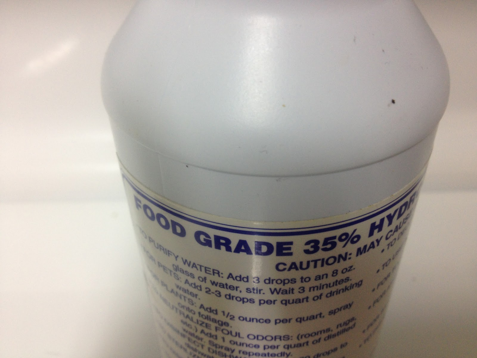 *BE A HEALTH NUT TOO*: *Hydrogen Peroxide 35% Food Grade ...
