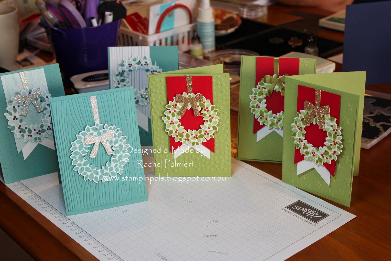 Stampin' Pals: Stampin' Up! Christmas Cards