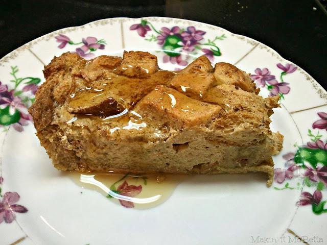 Makin' it Mo' Betta: Apple Cider Bread Pudding